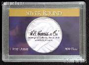 Harris 2x3  Silver Round Holder for SILVER ROUNDS