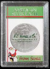 Harris 2x3 From Santa Holder for American SILVER EAGLES