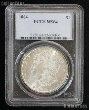 1884 Morgan Silver Dollar in PCGS MS 64