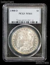 1900-O Morgan Silver Dollar in PCGS MS 64