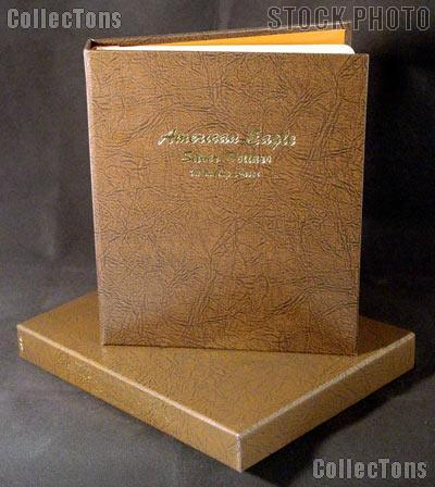 Dansco Album and Slipcase for American Silver Eagle Dollars Including Proof 1986 through 2006