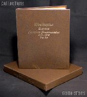 Dansco Album and Archival Slipcase for Statehood Commemorative Washington Quarters 1999 through 2009