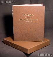 Dansco Album and Archival Slipcase for Statehood Commemorative P and D Quarters 1999 through 2008