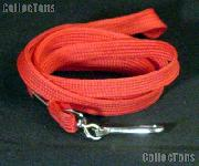 Red Lanyard to hold Loupe Magnifiers