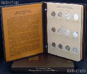 DC & Territory Quarters Set of 2009 DC & US Territory Quarters (Gem BU P & D, Proof, and Silver Proof) w/ Dansco Album & Dansco Slipcase