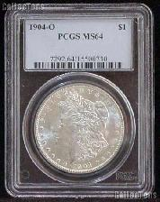 1904-O Morgan Silver Dollar in PCGS MS 64