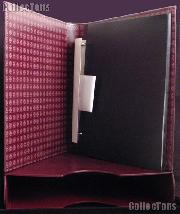 Currency Album for Graded Currency Set Lighthouse Classic GRANDE w/ Binder & Slipcase in Red & Graded Currency Pages