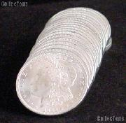 1921 BU Morgan Silver Dollars from Original Roll