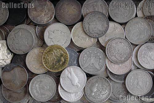 1878-1935 Morgan & Peace Silver Dollars
