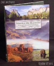 National Parks Quarter Folder Deluxe by Littleton for America The Beautiful Commemorative Quarters 2010 - 2021 LCF40