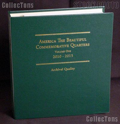 National Parks Quarter Album by Littleton for America The Beautiful Quarters P, D, Proof, & Silver Proof 2010 - 2015 Vol. 1 LCA74