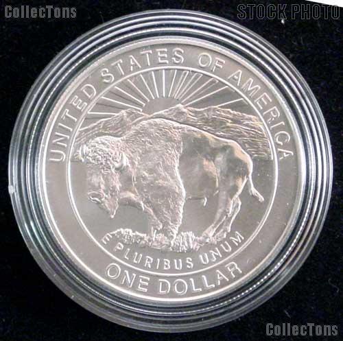 1999-P BU Yellowstone Commemorative Silver Dollars