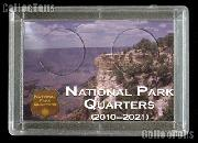 National Park Quarters Holder by Harris 2x3 Canyon View Design for America the Beautiful Quarter Program