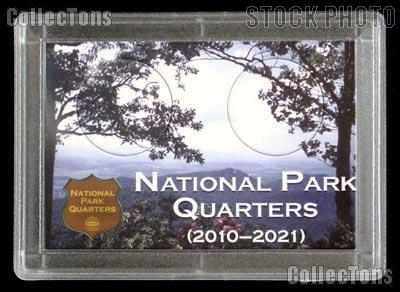 National Park Quarters Holder by Harris 2x3 Meadow View Design for America the Beautiful Quarter Program