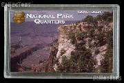 National Parks Quarters Holder by Harris 3x5 Canyon View Design for America the Beautiful Quarter Program