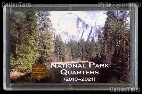 National Parks Quarters Holder by Harris 3x5 Mountain View Design for America the Beautiful Quarter Program