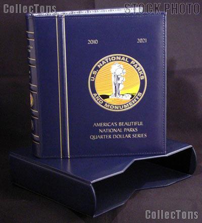 National Park Quarters Album w/ Slipcase by Lighthouse for America The Beautiful Quarters Program P & D 2010 - 2021