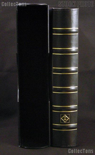 Certified Coin Album Set Lighthouse Classic GRANDE w/ Binder & Slipcase in Black & Certified Coin Pages