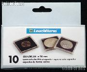 Coin Holder 5 Guilders by Lighthouse (QUADRUM 24) 10 Pack of 24mm 2x2 Plastic Coin Holders