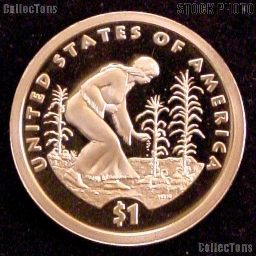 2009-S Native American Sacagawea Golden Dollar - Proof