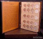Franklin Silver Half Dollar Set BU 1948 - 1963  Franklin Halves Set (35 Coins) in Album