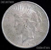 1925 S Peace Silver Dollar Circulated Coin VG-8 or Better