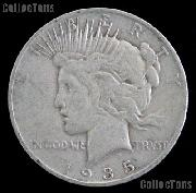 1935 Peace Silver Dollar Circulated Coin VG-8 or Better