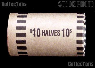 Preformed Coin Wrappers for 20 HALF DOLLARS $10 Box of 1,000