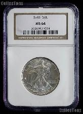 1944 Walking Liberty Silver Half Dollar in NGC MS 64