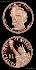 2010-S Franklin Pierce Presidential Dollar GEM PROOF Coin