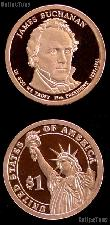 2010-S James Buchanan Presidential Dollar GEM PROOF Coin