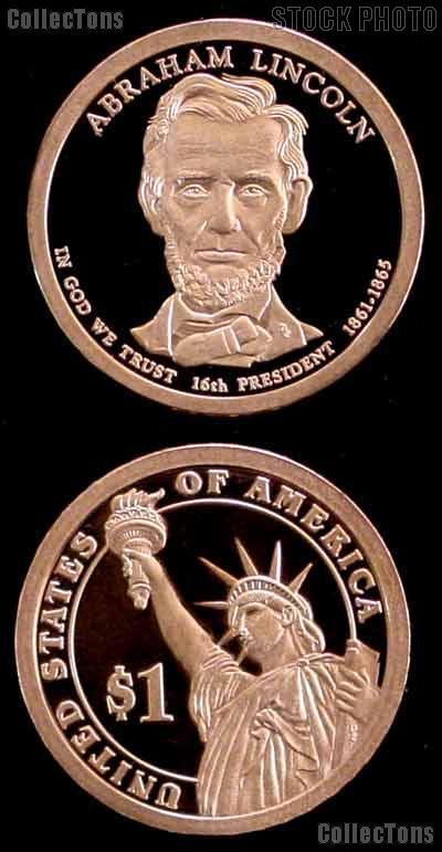 2010-S Abraham Lincoln Presidential Dollar GEM PROOF Coin