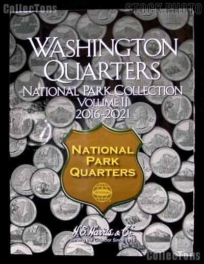 Washington Quarters National Park Collection 2016-2021 Volume 2