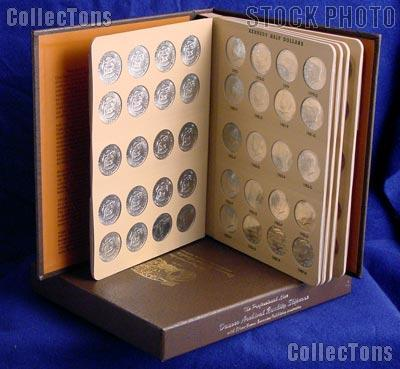 Kennedy Half Dollar Set 1964 to 2013 Complete Uncirculated Set P & D Mints (92 Coins) in Dansco Album # 7166 w/ Slipcase