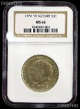 1936 Bridgeport Connecticut Centennial Silver Commemorative Half Dollar in NGC MS 66