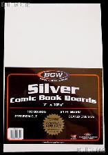 Silver Age Comic Book Backing Boards - Pack of 100 by BCW