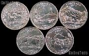 2006 Quarters Set of 10 BU Coins 2006 State Quarters P & D Mints
