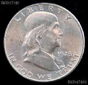 1948-D Franklin Half Dollar Silver * Choice BU 1948 Franklin Half
