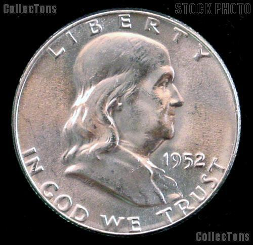 1952-D Franklin Half Dollar Silver * Choice BU 1952 Franklin Half