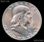 1952-S Franklin Half Dollar Silver * Choice BU 1952 Franklin Half