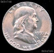 1955 Franklin Half Dollar Silver * Choice BU 1955 Franklin Half
