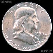 1956 Franklin Half Dollar Silver * Choice BU 1956 Franklin Half