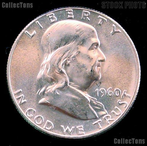 1960 Franklin Half Dollar Silver * Choice BU 1960 Franklin Half