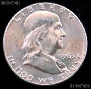1963-D Franklin Half Dollar Silver * Choice BU 1963 Franklin Half