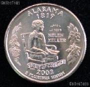 Alabama Quarter 2003-D Alabama Washington Quarter * GEM BU for Album