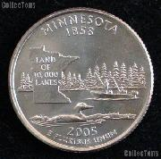 Minnesota Quarter 2005-D Minnesota Washington Quarter * GEM BU