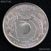Georgia Quarter 1999-D Georgia Washington Quarter * GEM BU for Album