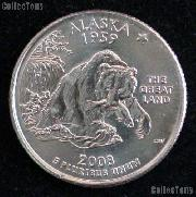 Alaska Quarter 2008-P Alaska Washington Quarter * GEM BU for Album