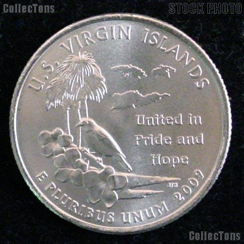 Virgin Islands Quarter 2009-D US Virgin Islands Washington Quarter BU