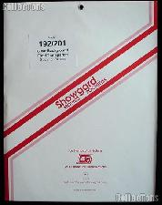 Showgard Pre-Cut Clear Stamp Mounts Size 192/201